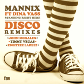 Mannix featuring Dina Vass - Standing right here (Disco Remixes)