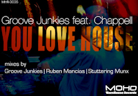 Groove Junkies featuring Chappell - You love House