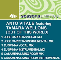 Anto Vitale featuring Tamara Wellons - Out of this world (Remixes)