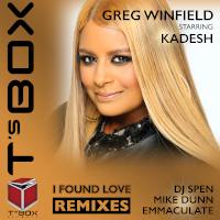 Greg Winfield featuring Kadesh - I found love (Remixes)
